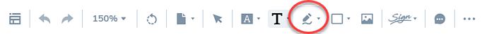 Draw-option-on-toolbar