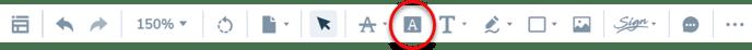 Highlight-option-on-toolbar-1