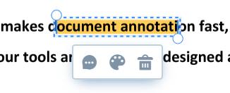 Highlighted-text-edit
