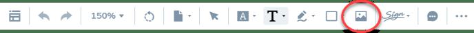 Image-option-on-toolbar