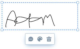 Manipulate-signature
