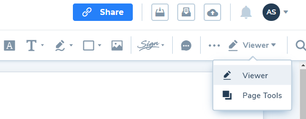 Page-tools-option