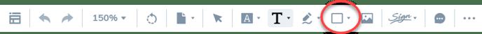 Shape-option-on-toolbar